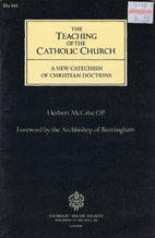 The Teaching of the Catholic Church: A New…