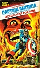 Captain America: Holocaust for Hire (Marvel…