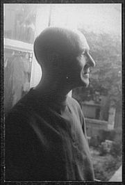 Author photo. Photo by Carl Van Vechten, Oct. 6, 1949, Paris (Library of Congress, Carl Van Vechten Collection, Digital ID: van 5a52201)