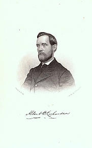 Author photo. Image from <b><i>The Secret Service, the Field, the Dungeon, and the Escape</i></b> (1865) by Albert D. Richardson