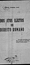 Dos atos ilícitos no direito romano by…