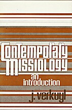 Contemporary Missiology: An Introduction by…