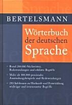 Bertelsmann Wörterbuch der deutschen…