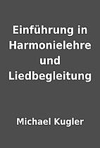 Einführung in Harmonielehre und…