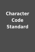 Character Code Standard