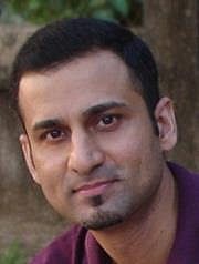 Author photo. Author Sameer Kamat