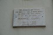 Author photo. Frontignan (Hérault) - plaque sur la maison où est né Maurice Clavel (1920-1979). By Fagairolles 34 - Own work, CC BY-SA 4.0, <a href=&quot;https://commons.wikimedia.org/w/index.php?curid=15501513&quot; rel=&quot;nofollow&quot; target=&quot;_top&quot;>https://commons.wikimedia.org/w/index.php?curid=15501513</a>
