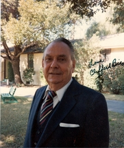 Author photo. Clifford Bias gave me this autographed picture