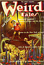 Weird Tales Volume 34 Number 1, June-July…