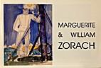 Marguerite & William Zorach