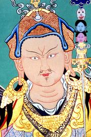 Author photo. Padmasambhava   Guru Rinpoche