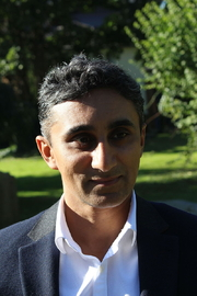 Author photo. Vaseem Khan