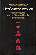 Het Chinese denken : geschiedenis van de…