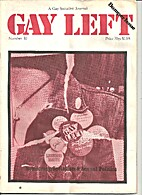 Gay Left: A Gay Socialist Journal (Issue…