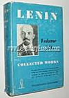 V. I. Lenin Collected Works (Vol. XIX/19) by…