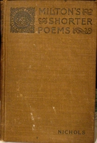 Milton's shorter poems and sonnets by…