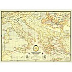Classical Lands of the Mediterranean Map by…