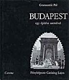 Budapest egy építész…