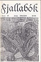 Fjallabok Number 7 April 1994 by Larsanthony…