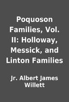 Poquoson Families, Vol. II: Holloway,…