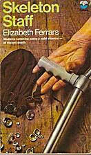 Skeleton Staff by Elizabeth Ferrars