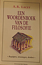 Een woordenboek van de filosofie begrippen,…