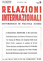 13. 1-25 : Relazioni Internazionali dal 1…