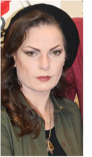 Author photo. <a href=&quot;http://www.zeena.eu&quot; rel=&quot;nofollow&quot; target=&quot;_top&quot;>www.zeena.eu</a> - photo of Zeena Schreck at pubic event/Berlin Gallery weekend 2011