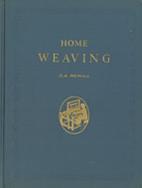 Home Weaving by Oscar Beriau