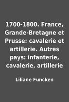 1700-1800. France, Grande-Bretagne et…