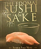 The Edomae Sushi and Sake Menu by Edomae