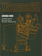 HARROWSMITH: INDEX ONE, ISSUES 1 TO 25 by…