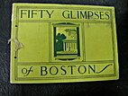 Fifty Glimpses of Boston by Rand McNally and…