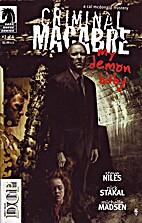 Criminal Macabre # 22: My Demon Baby # 2