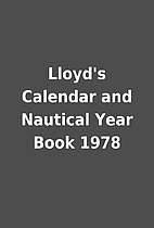 Lloyd's Calendar and Nautical Year Book 1978