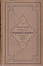 Gesamtausgabe der Erzählenden Schriften in…