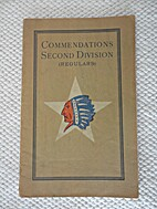 Commendations Second Division (Regulars).