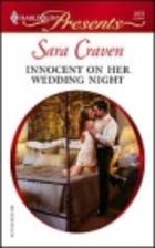 Innocent on Her Wedding Night by Sara Craven