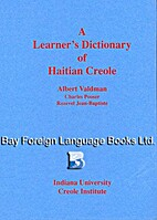A Learner's Dictionary of Haitian Creole by…