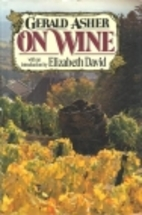 On wine by Gerald Asher
