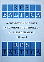 Res Baltica. A Collection of Essays in Honor…