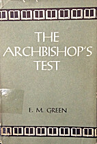 The Archbishop's Test by E M Green