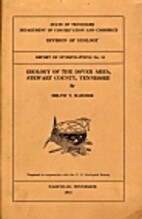 Geology of the Dover area, Stewart County,…