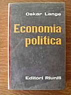 Economia politica. Vol. II by Oskar Lange