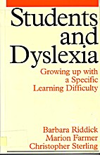 Students and Dyslexia: Growing up with a…