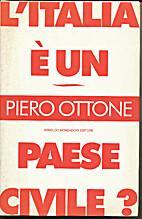 L'Italia è un paese civile? by Piero Ottone