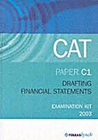 Drafting Financial Statements C1 (Acca (Cat)…