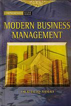 Modern Business Management (Comprehensive…