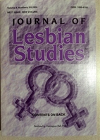 Journal of Lesbian Studies Vol. 8, 3/4 by…