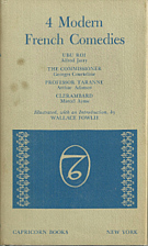 Four Modern French Comedies by Wallace…